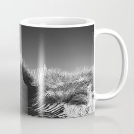 Fencing On The Beach Coffee Mug