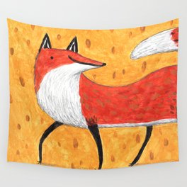 Sassy Little Fox Wall Tapestry