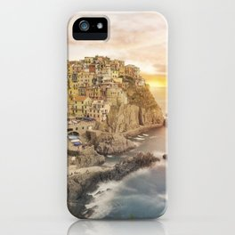 Manarola dream iPhone Case