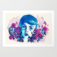 new year Art Prints featuring New Year by Enrico Guarnieri 'Ico-dY'