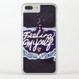 Feeling Myself Clear iPhone Case