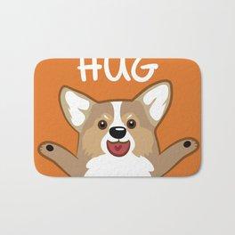 Hug Corgi Bath Mat