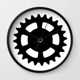 Cog and Roll Wall Clock