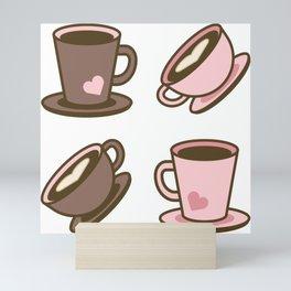 Love Mugs Mini Art Print