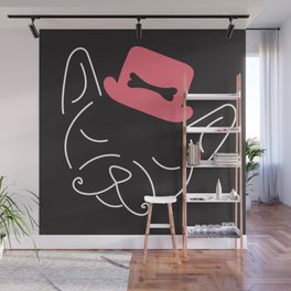 Ze Frenchie Wall Mural
