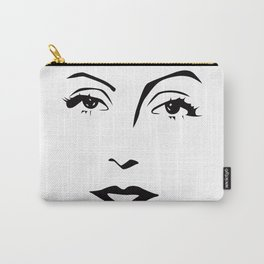 Old Hollywood - Greta Garbo Carry-All Pouch