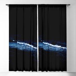 Moonlight over the ocean Blackout Curtain