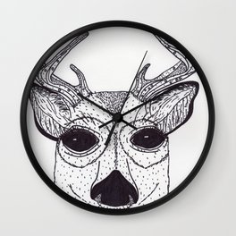 Baby Buck Wall Clock
