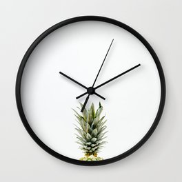 Be One with the Pineapple Wall Clock