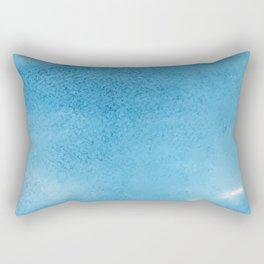 Watercolor Texture Pattern Rectangular Pillow
