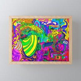 Fantacy Aquarium Framed Mini Art Print