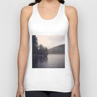 cabin Tank Tops featuring Cabin by Belle and Alaska