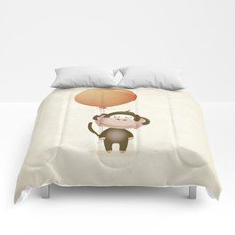 Monkey Print Comforters