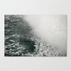 Maine Ferry Wake Canvas Print
