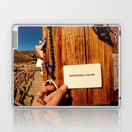 Intentionally Blank Laptop & iPad Skin