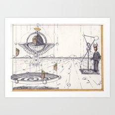prince in transit Art Print