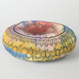 Circle of Life Floor Pillow
