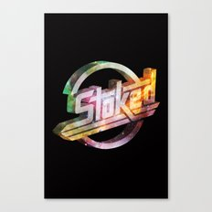 Stoked Cosmos Canvas Print