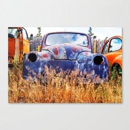 Rusty Gold Canvas Print