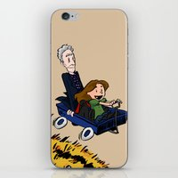 onward iPhone & iPod Skins featuring Doctor Who: Onward, to Adventure! by tinywonder