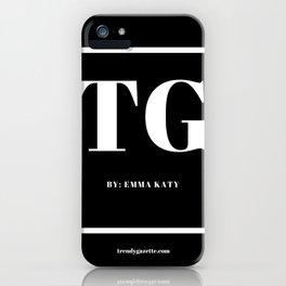 Trendy Gazette iPhone Case