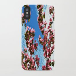 Sky/Flowers iPhone Case