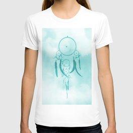 Aqua DreamCatcher T-shirt