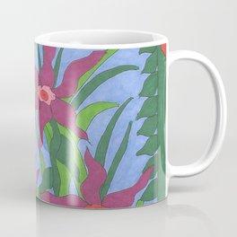 Boho Garden Blues Coffee Mug