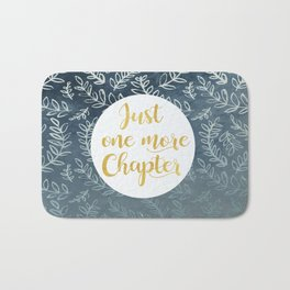 Just One More Chapter Design Bath Mat