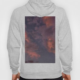 Last Days Of Summer. Clouds at Sunset Hoody