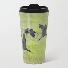White-Faced Ibis Rising, No. 2 Travel Mug