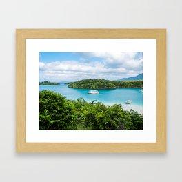 Kabira Bay Okinawa Framed Art Print