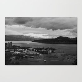 kelowna, british columbia Canvas Print
