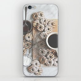 Coffee & Cookies iPhone Skin