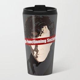 Sherlock: High-Functioning Sociopath Travel Mug