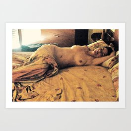 Love in the Afternoon - Barcelona Art Print