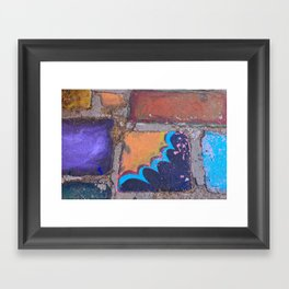 Chalk  Framed Art Print
