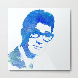 Buddy Holly, Music Legend Metal Print