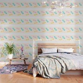 Pastel Plasters Wallpaper