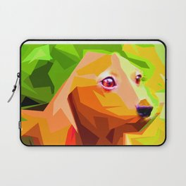 Abstract Dog Laptop Sleeve