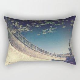 Falling leaves upside down Rectangular Pillow