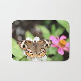 Beautiful Buckeye Butterfly Bath Mat