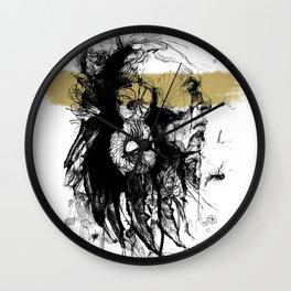 American Indian I Wall Clock