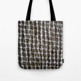 Macrame Square Knots: Brown-Black Version Tote Bag
