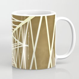 Electric pylon - Abstract Monochrome Coffee Mug