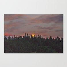Supermoon Canvas Print