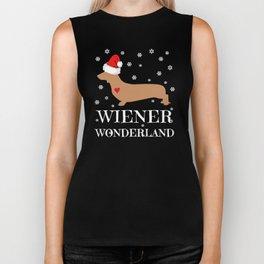 Wiener Wonderland Biker Tank