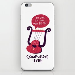 Compulsive Lyre iPhone Skin