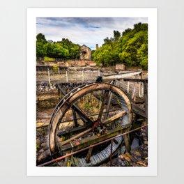 Minera Lead Mines Art Print