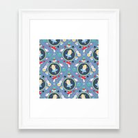 alice wonderland Framed Art Prints featuring Wonderland by Emily Golden